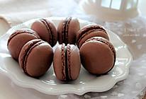 法式巧克力马卡龙