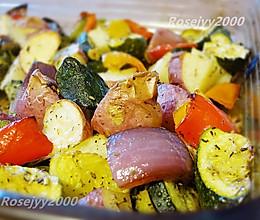 烤蔬菜块的做法
