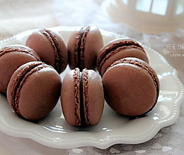 法式巧克力马卡龙#美的绅士烤箱#的做法