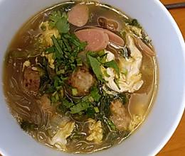 肉丸粉丝汤的做法