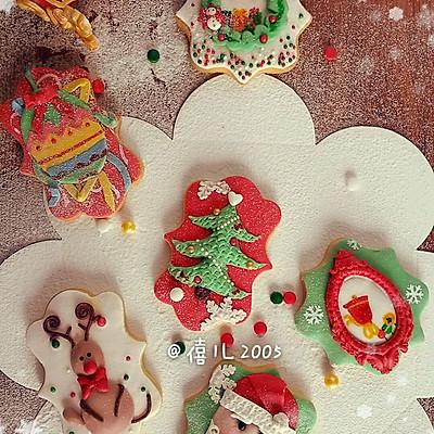 圣诞系列--翻糖饼干