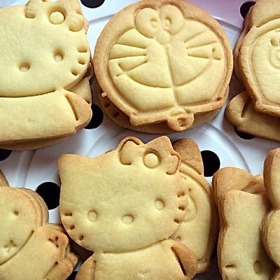 黄油卡通饼干