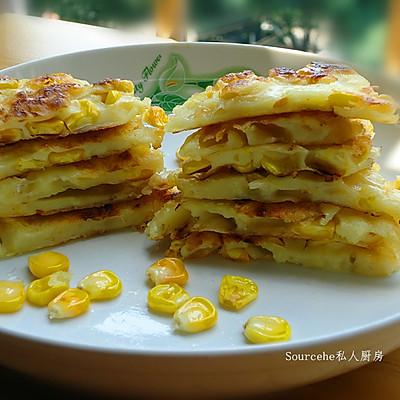 玉米粒烙饼