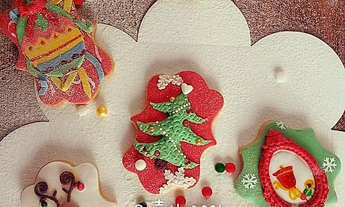 圣诞系列--翻糖饼干的做法