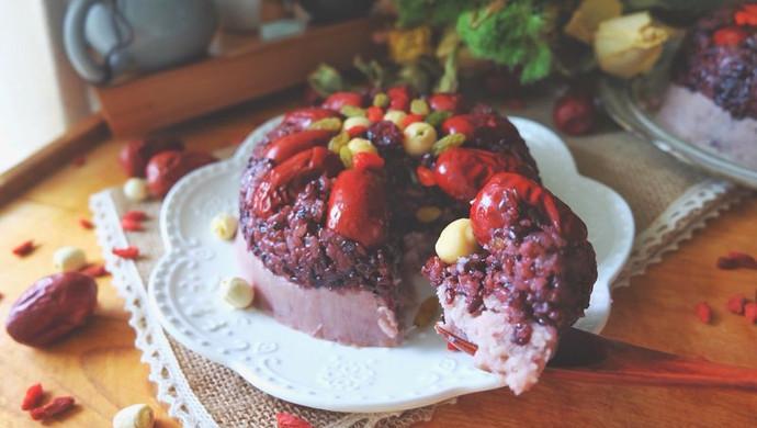 芋泥紫米糕