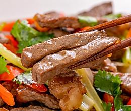 沙姜牛柳 | 咸香滑口的做法