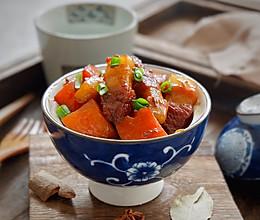 五花肉烧胡萝卜的做法