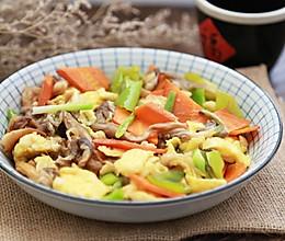 #秋天怎么吃#平菇炒鸡蛋的做法