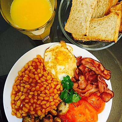 英式早餐English breakfast