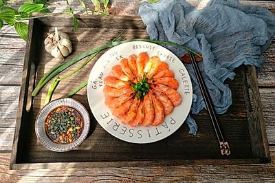 5分钟快手菜-白灼基围虾