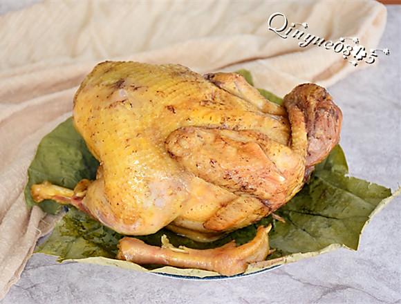 清香荷叶鸡的做法