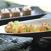 咸味小泡芙#美的烤箱菜谱#