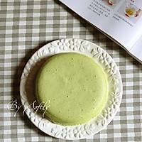 菠菜蒸蛋糕 #中粮我买,春季踏青#的做法图解16