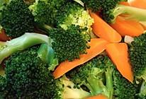 西兰花胡萝卜的做法