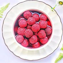 #花10分钟,做一道菜!#酸甜爽口的冰镇杨梅