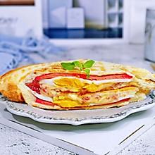 #今天吃什么#奶酪火腿鸡蛋三明治