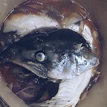 三文鱼头煲