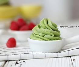 #520,美食撩动TA的心!#巧克力抹茶奶油霜的做法