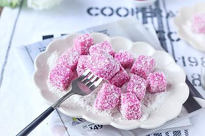 火龙果奶冻