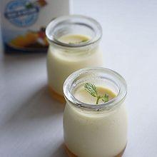 香滑的焦糖牛奶布丁