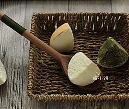 【迷你奶酪包(多口味)】原味奶酪+抹茶蜜豆+可可蔓越莓的做法
