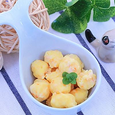 蛋黄虾仁  宝宝辅食食谱