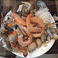 一起吃饭吧之青海大王海鲜炒面的做法图解1