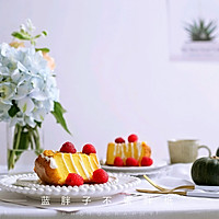 黄金南瓜戚风蛋糕