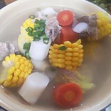 养生的杂粮排骨汤