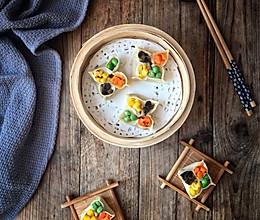 牛肉四喜蒸饺的做法