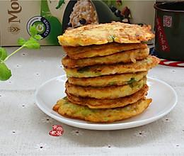 燕麦鸡蛋饼的做法