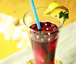 美国蔓越莓莫吉托(无酒精版)的做法