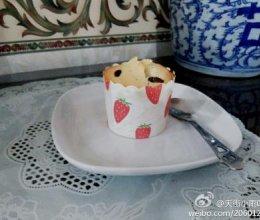 蜜豆玛芬蛋糕的做法