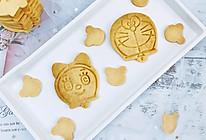 多啦A梦-奶香卡通饼干的做法