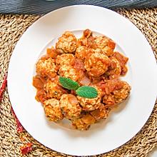 红烩鸡肉丸,让减肥不再食而无味 #春季减肥,边吃边瘦#