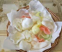 #80后小时候味道#零食——炸虾片的做法