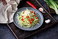 凉拌莴笋丝#中式减脂餐#的做法