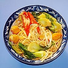#味达美名厨福气汁,新春添口福#番茄火锅面