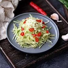 凉拌莴笋丝#中式减脂餐#