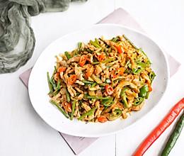 超下饭的神菜-榨菜炒肉丝的做法