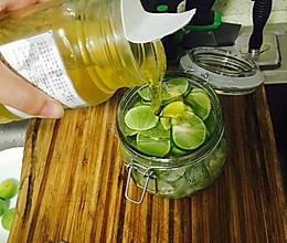 青柠檬蜂蜜茶的做法