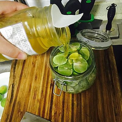 青柠檬蜂蜜茶