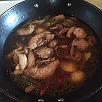 鸡肉香菇炖土豆的做法图解7