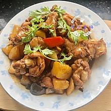 #美食视频挑战赛#简单好吃的黄焖鸡翅根土豆