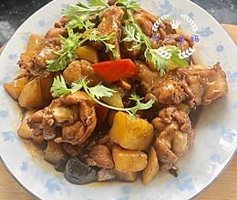 #美食视频挑战赛#简单好吃的黄焖鸡翅根土豆的做法