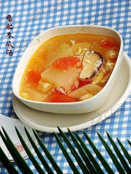 番茄冬瓜汤的做法