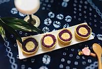 香蕉紫薯鸡蛋卷的做法