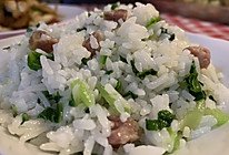 【荼靡美食】上海腊肠菜饭的做法