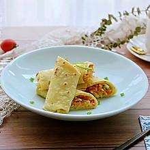 #秋天怎么吃# 早餐小食——土豆丝卷饼