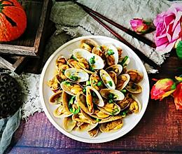 #换着花样吃早餐#酱香油蛤的做法